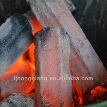 Sawdust hexagonal briquette charcoal for sale