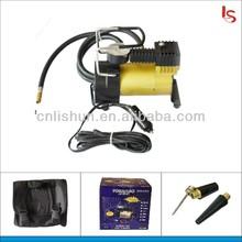 Mini air compressor portable car tire inflator pump