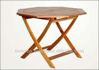 Wooden Octagonal Table