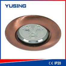Die-casting Zinc Body High Power 5W 80mm LED Downlight