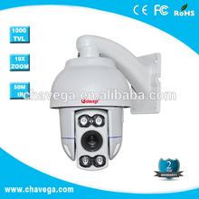 4 inch High Speed IR pc mini camera 1/4inch SONY CCD,480TVL,10X optical focus, F=3.9-39mm , 256 presets
