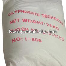 erbicida glifosato