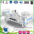 Luxos modernos cama elétrica, 3 motores elétrica cama de hospital na uti para, três- função cama elétrica