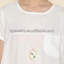 2014 popular Retro costume jewelry lucky bird charm jewelry fashion necklace for lady