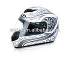 ECE helmet, Motorcycle helmet, safety helmet WLT-101 White/Silver 2#