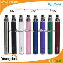 2014 Best Price E-Cigarette Variable Voltage Ego Twist Kit ,E-cig Ego c twist