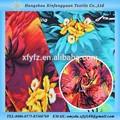 Isla tropical 100 diseño rayón impreso tela para prendas de vestir blusa/falda/vestido