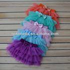 2014 fashion skirt 1-6 years old girls chiffon fashion tutu ruffle skirt for girl