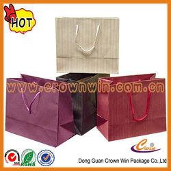 Hot sale colorful printing paper bag ,raw materials of paper bag