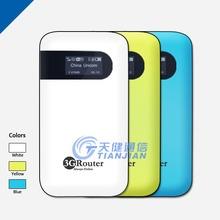 Mini Wireless Hotspot 3G Router WiFi Con SIM Card