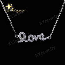 Love jewelry,love enamel necklace,lover necklace jewelry XYN100039