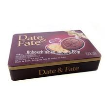 customized cakes cookies food tin box