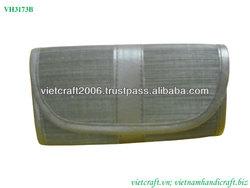 Natural bamboo lady wallets