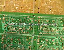 PCB Single side, FR1, RR4, CEM-1, CEM-3, Aluminium PCB
