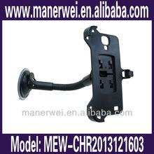 New design for 360 degree rotating car mobile phone holder, multi-function, fit for samsung i9500 car phoner for samsung i9500