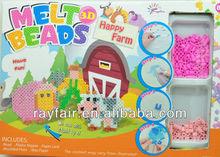 Happy farm melt beads kit