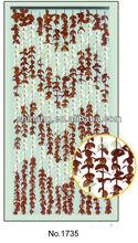 wave, cheap flower leaf curtain, bamboo curtain