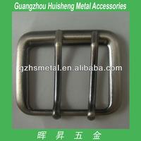 Luxury Metal Bag Accessories Western Metal Belt Buckle Metal Double Pin Buckle Fashion Handbag Buckle