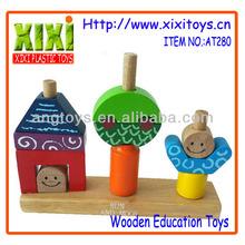 2015 Top Selling Kids Educational Blocks Games Wooden Educational Toy