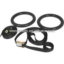 anelli di ginnastica palestra con cinturino in nylon e fibbia