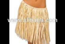 Real raffia grass hula skirt