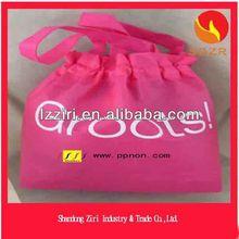 Direct Manufacturer China Customized Silk Print Silk Print Nonwoven Shopping Nonwoven Bag