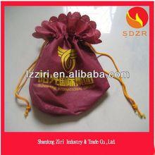 Direct Manufacturer China Customized Silk Print 80Gsm Non Woven Fabric Drawstring Bags