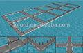 fabricantes de gaiolas de peixe de oceano azul gaiolas quadradas gaiola de peixe Sistema Farm