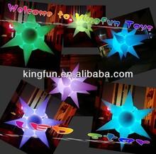 2014 Pub/club inflatable LED decoration star