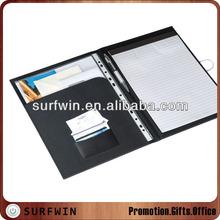 Leatherette certificate folder