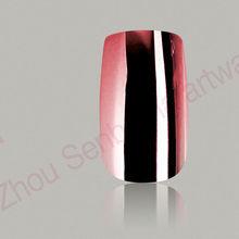 free sample ladys love metallic nail art desig nails