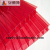 red popular pc sheet with UV protection greenhouse