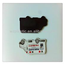 custom paper fridge magnet /creative fridge magnet/cheap fridge magnet