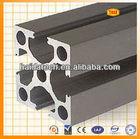 jiangyin haida brand anodized 6000 series extruded aluminum profiles