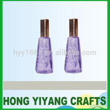 unique glass dragon bottle/play girl perfume glass bottle