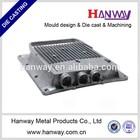 Aluminum die cast enclosure for wireless antenna equipment