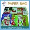 xmas shopping bags rigid boxes paper bags
