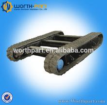 Bobcat rubber track for excavator, rubber running track for digger/bulldozer,combine harvester rubber track