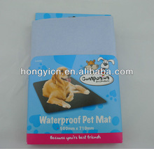 Water proof PE film non woven fabric disposable absorbent pet mat