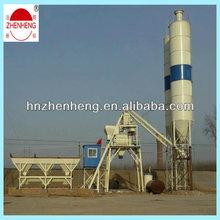 HZS25 Mini ready mix precast concrete batching plant from China on sale