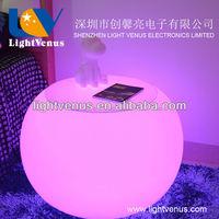 PE material led lounge furniture