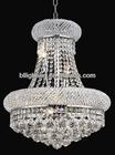 Golden finish wedding crystal chandelier lighting