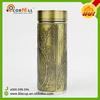 hot sale new product golden leaves design water bottle gift mug gift cup