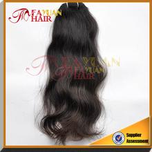Wholesale unprocessed natural wave hair products 4pcs lot