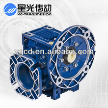 XGRV aluminum Worm Gear Reducer with output flange