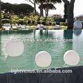ce aprobado y rohs led bola flotante para la luz de la piscina de natación
