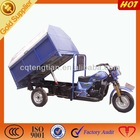 Tip truck dust cart tricycle tip truck 3 wheel rubbish motorcycle