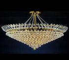 Big round crystal chandelier low ceiling crystal chandelier
