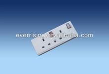 13A plug European Electrical extension socket