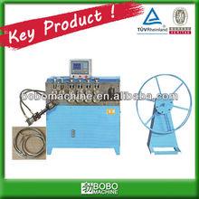 Tambor anillo de cierre y barril del aro que forma la máquina
